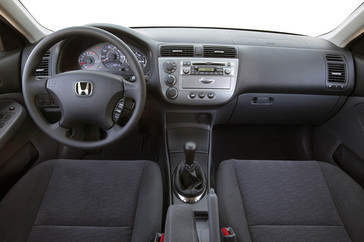 2004 Honda Civic Hybrid >> 2004 Honda Civic Hybrid Gets A Full Compliment Of Interior