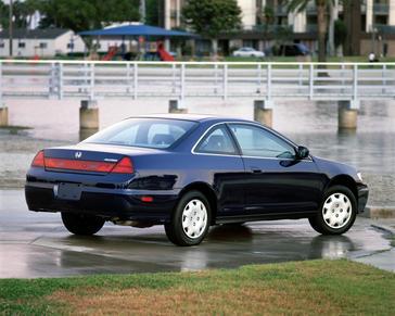 2001 Honda Accord Press Kit