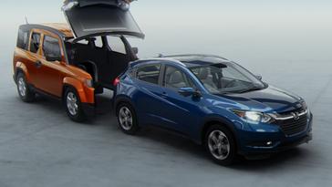 2016 Honda Element >> All New Honda Hr V Crossover Advertising Campaign Gets