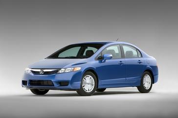 US Built Fit System Driver Side Mirror for Honda Civic Sedan GX Power Black Non-Foldaway LX