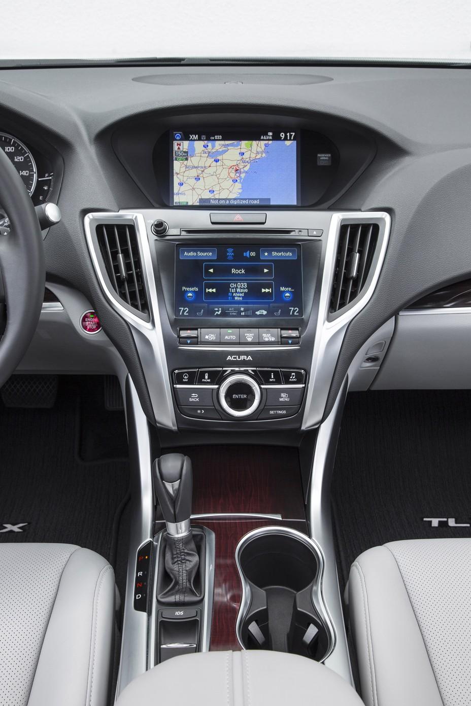 2015 Acura Tlx Interior L4