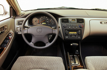 2002 Honda Accord Coupe Features