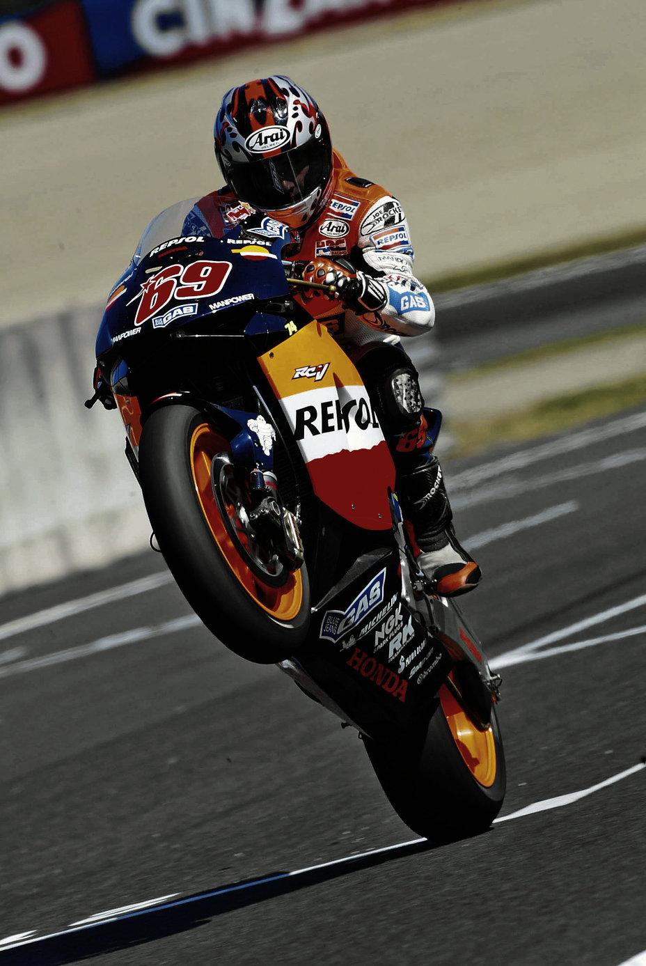 Nicky Hayden 2003 Motogp