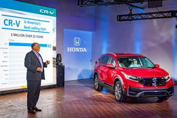 Executive Remarks From The 2020 Honda Cr V Debut